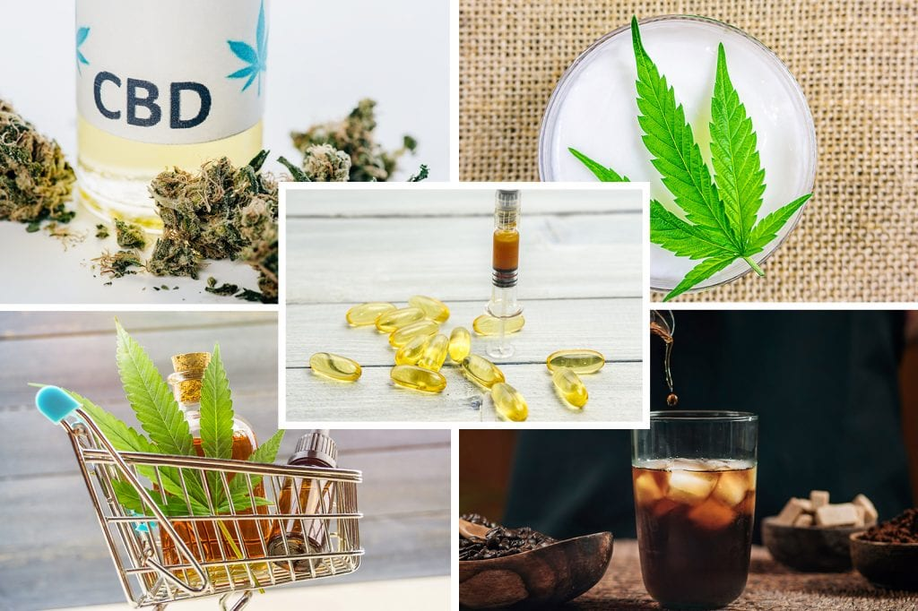 Wide Variety of CBD Products like oils, capsules, edibles, tinctures, soft gels, and much more.